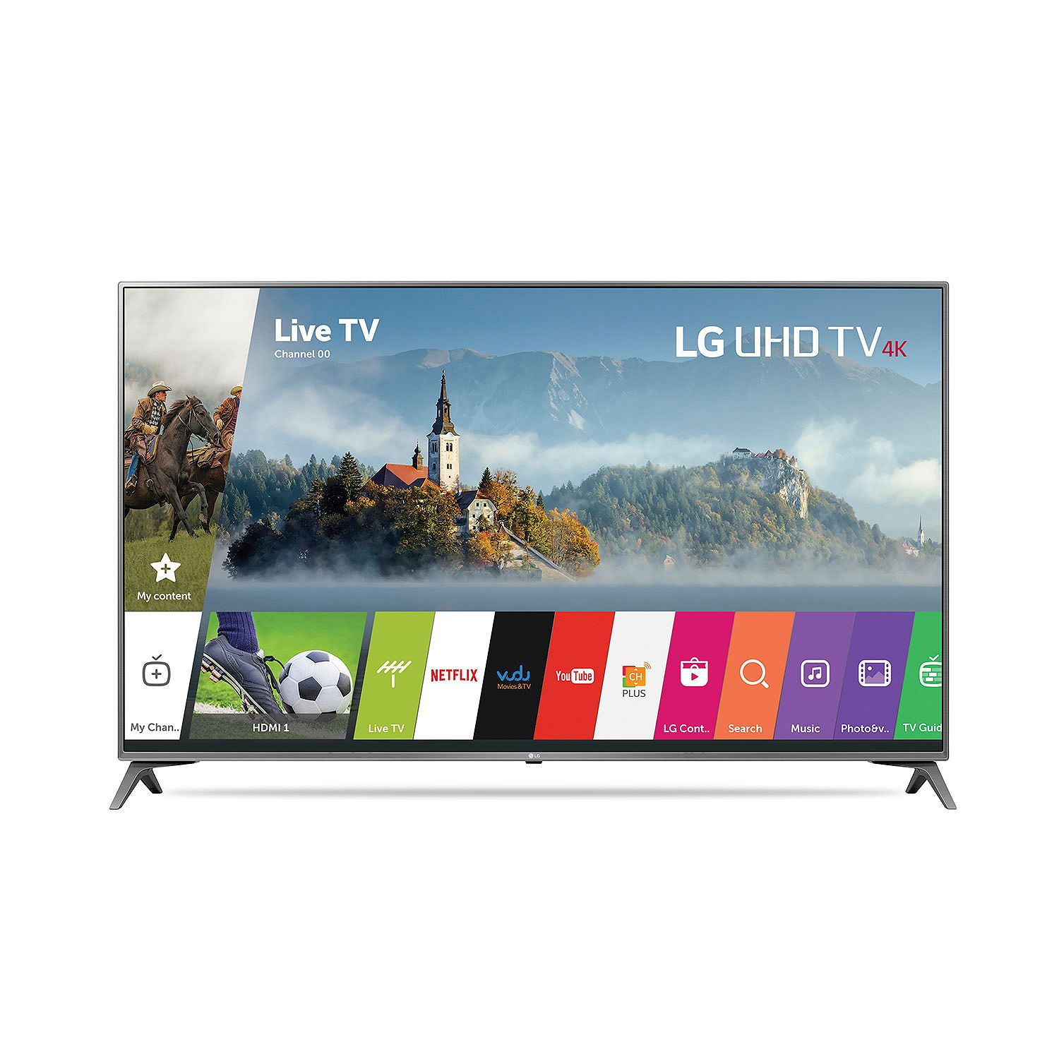 "Refurbished LG 49"" Class 4K (2160P) LED TV (49UJ6500)"
