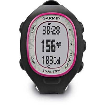 Garmin FR70 Fitness Watch with Heart-Rate Monitor (Pink) (Discontinued by Manufacturer)