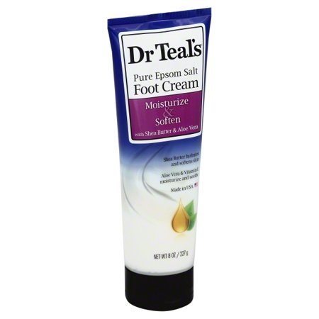 Dr. Teal's Shea Enriched Foot Cream, 8 oz