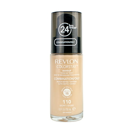 Revlon Colorstay Makeup Liquid Foundation Combination/Oily Skin - 110 Ivory