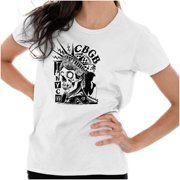 Brisco Brands CBGB Punk Rock Statue Liberty Adult Short Sleeve T-Shirt