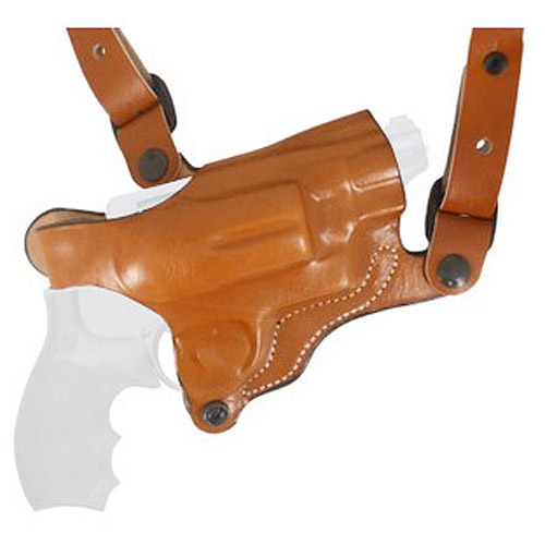 Desantis New York Undercover Shoulder Holster fits Glock 17 19 22 23 26 27 31 32, Right Hand, Tan by Generic