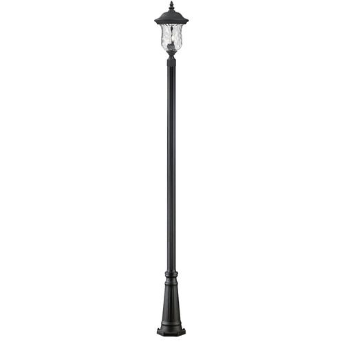 Z-Lite Armstrong Outdoor Post Light in Black