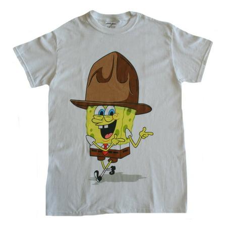 Spongebob Squarepants Pjs (SpongeBob Squarepants Cowboy Men's)