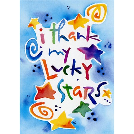 Recycled Paper Greetings Lucky Stars Father's Day Card (Paper Lucky Stars)