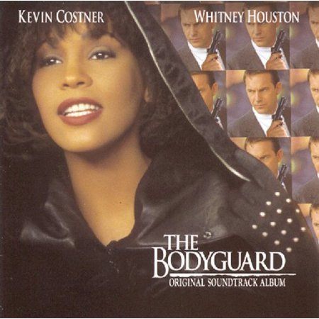 Kevin Costner and Whitney Houston - The Bodyguard (Original Motion Picture Soundtrack) (CD) (Whitney Houston Halloween)