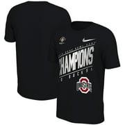 Ohio State Buckeyes Nike 2019 Rose Bowl Champions Locker Room T-Shirt - Black