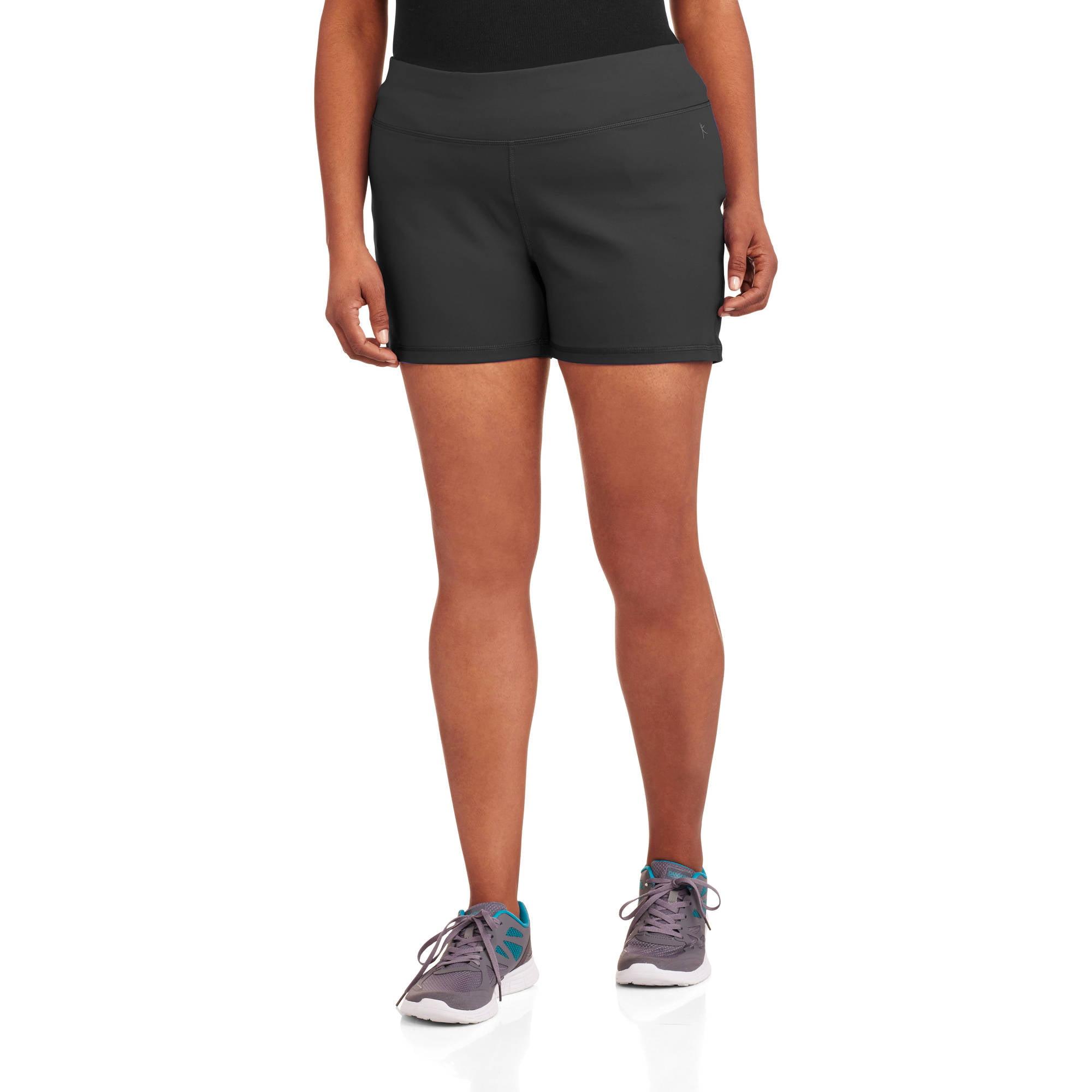 "Danskin Now Women's Plus-Size 3"" Inseam Compression Shorts"