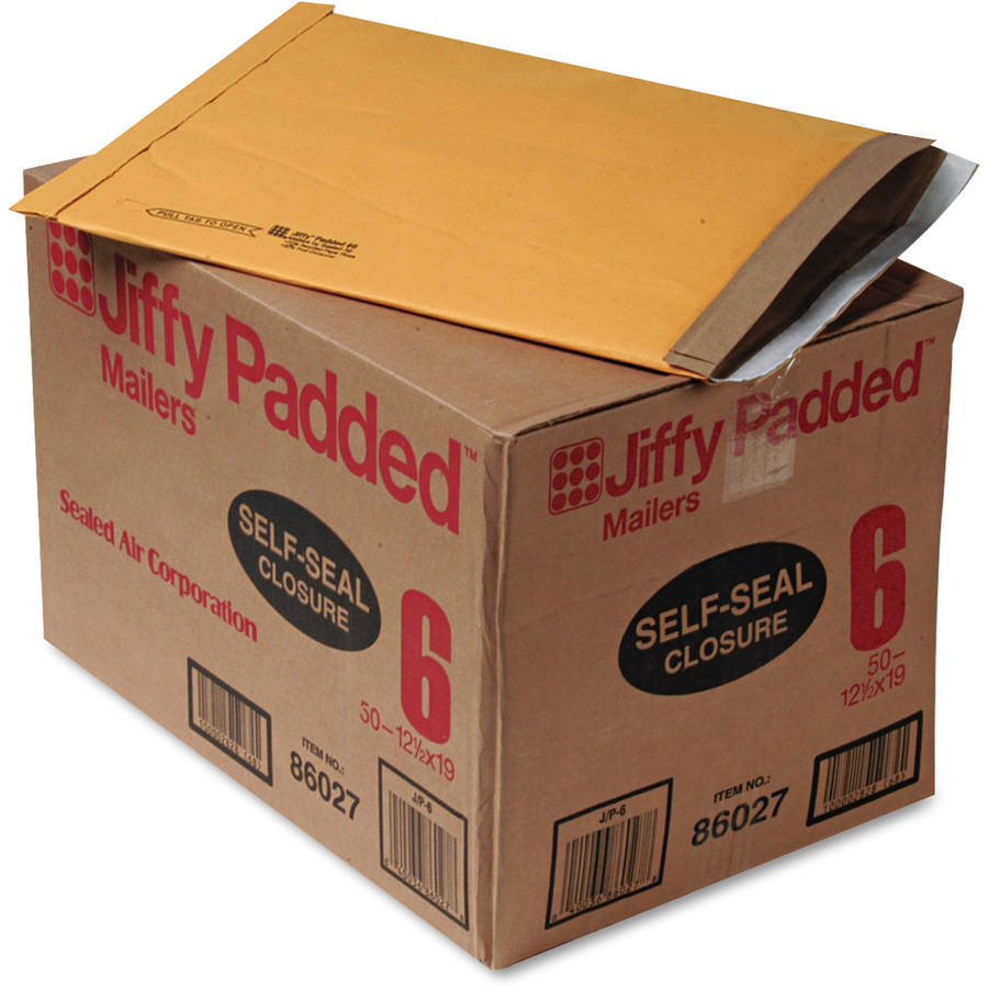 Sealed Air Jiffy Padded Self-Seal Mailer, Side Seam