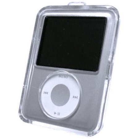 Crystal Clear Acrylic Case for 3rd Generation iPod Nano (Ipod Nano Case 1st Generation)