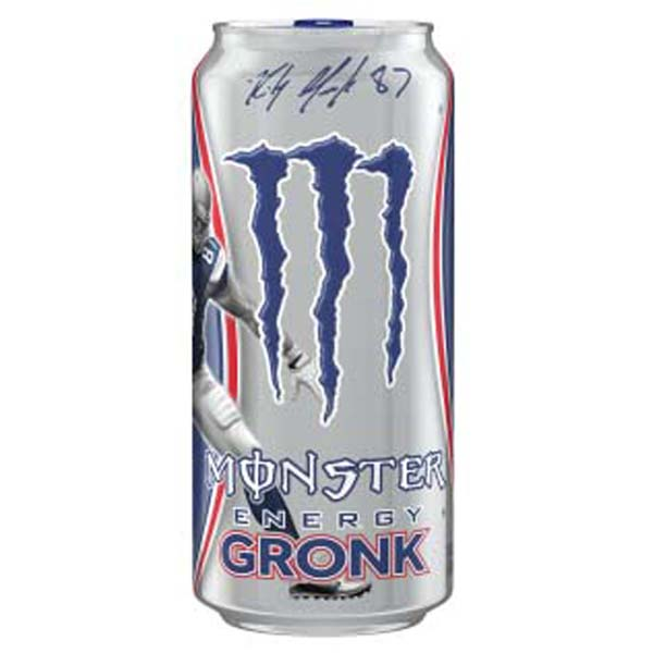 Monster Energy Gronk Energy Drink 16 oz Cans - Pack of 24