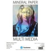 Yasutomo Mineral Paper Multi-Media Pad, 12in x 9in