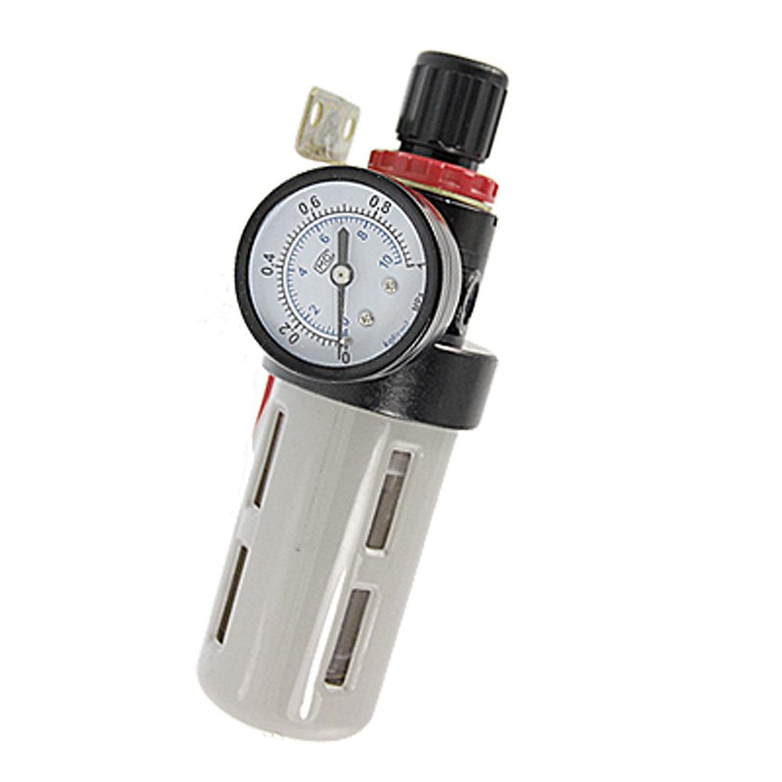 Air souce treatment filter regulator w pressure gauge walmart com