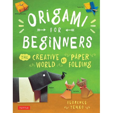Origami for Beginners : The Creative World of Paper Folding: Easy Origami Book with 36 Projects: Great for Kids or Adult - Halloween Craft Projects For Adults