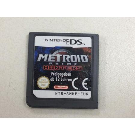 Metroid Prime Hunters - Nintendo DS (Best Metroid Prime Game)