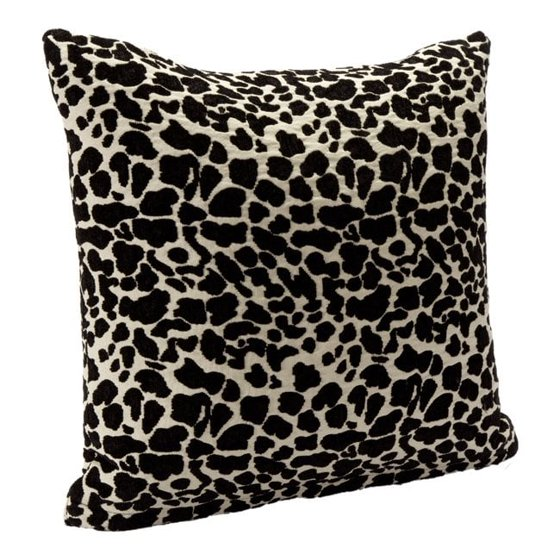 SIScovers Black Animal Print Accent Pillow - Walmart.com