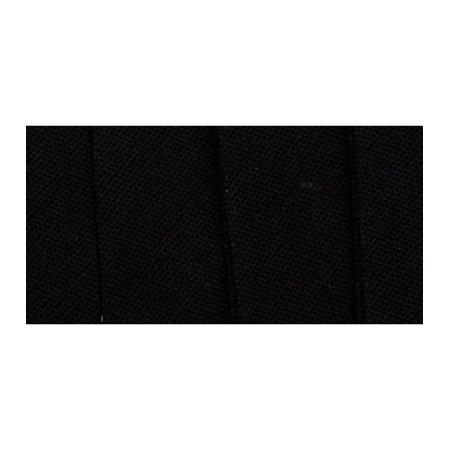 Wrights 117-206-031 Extra Wide Double Fold Bias Tape, Black, 3-Yard