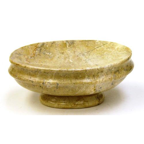 Nature Home Decor Sahara Beige Marble Soap Dish