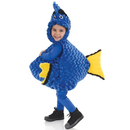 Blue Fish Toddler Costume - Doby Costume