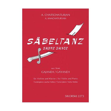 Sikorski Aram Khachaturian - Sabre Dance String Series Composed by Aram Khachaturian Edited by Jascha Heifetz