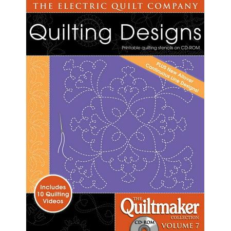 Quiltmaker Quilting Designs Volume 7