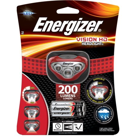 Energizer Vision HD LED Headlamp Only $6.60