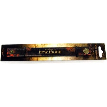 NECA Twilight New Moon Thin Cuff With Snap Closure Accessory - Heart Snap Closure