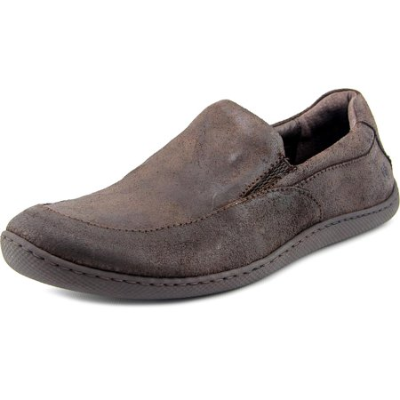 Born Woodard Men Round Toe Leather Brown Loafer