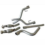 BBK 05-09 Mustang 4.0 V6 True Dual Cat Back Exhaust Conversion Kit With X pipe
