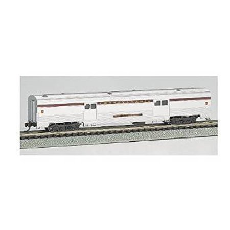 - bachmann industries streamline fluted 2-door baggage car - p