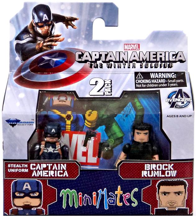Stealth Uniform Captain America & Brock Rumlow Minifigure 2-Pack