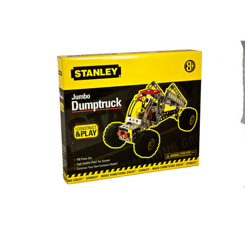 Stanley Tools Construct and Play Jumbo Dumptruck