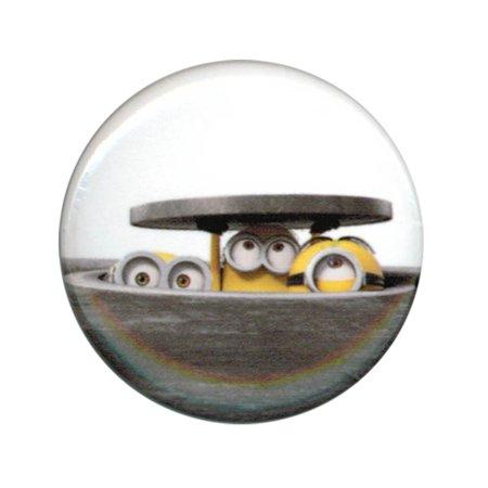 Despicable Me Minions Manhole Cover 1.25 Inch Button