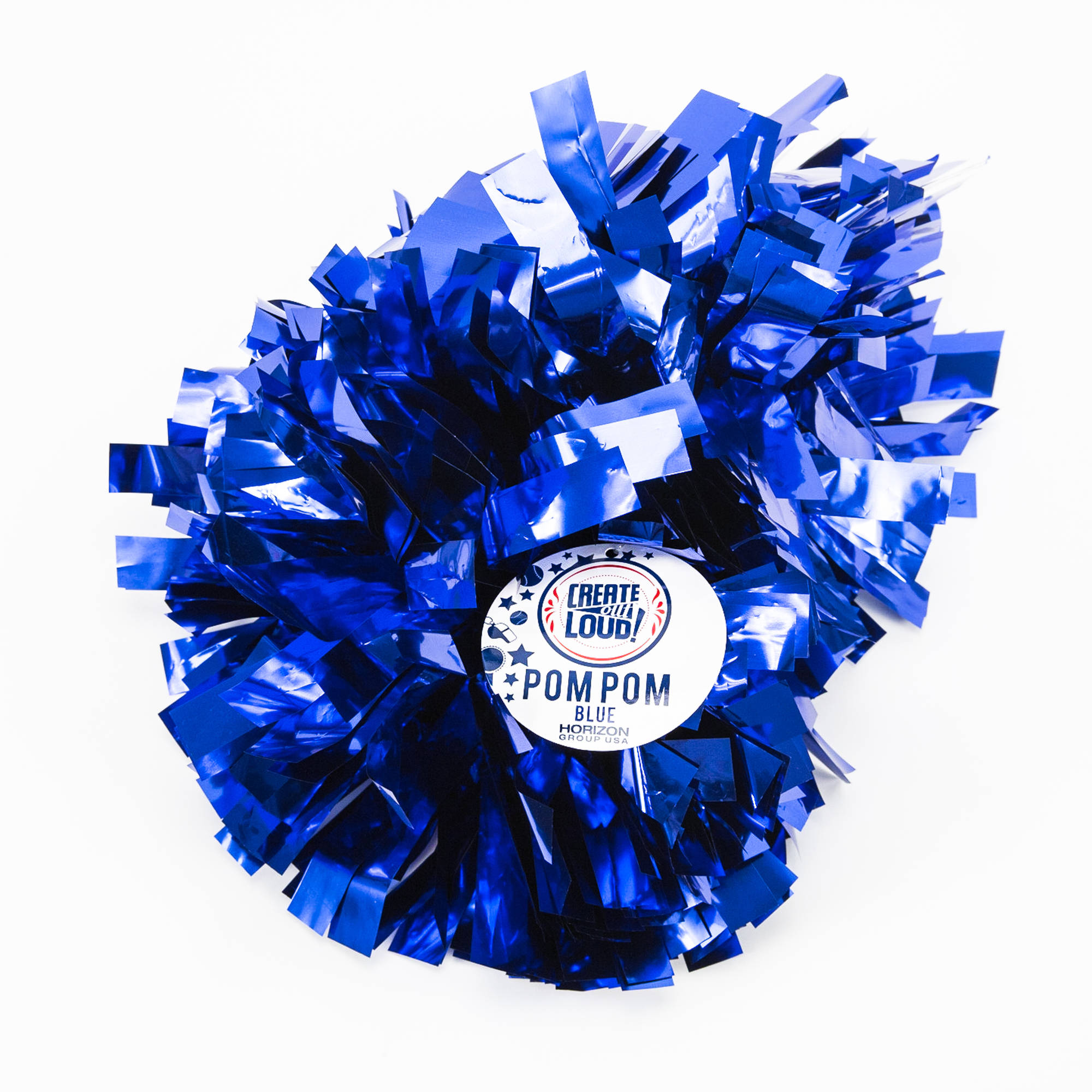 Create Out Loud Blue Pom Pom by Horizon Group USA