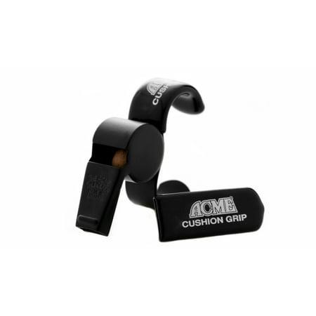 Acme Thunderer Finger Grip Official Referee Whistle F58.5 - Matt Black Finish