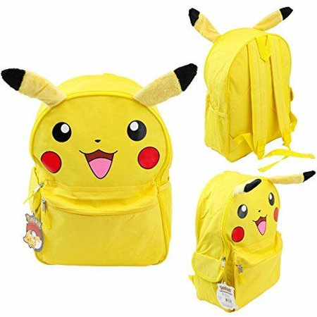 Licensed Pokemon Pikachu Face with ears 16
