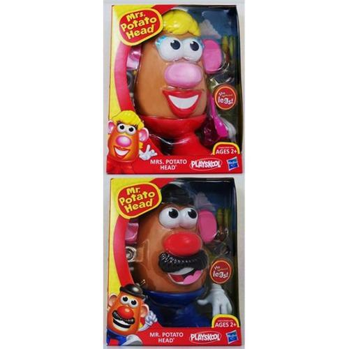 PLAY: MPH: Mr & Mrs Potato Head (4) 27656 by Hasbro
