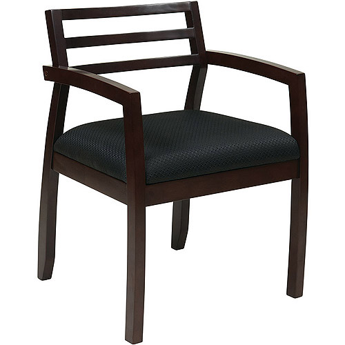 Office Star Napa Wood Back Guest Reception Waiting Room Chair