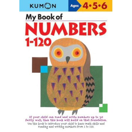 My Book of Numbers, 1-120 - Number Book