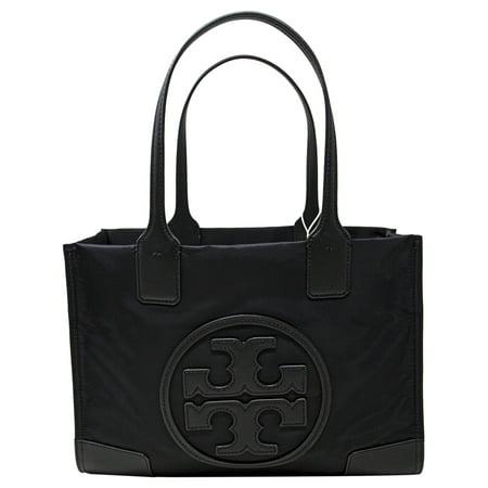 Tory Burch Women's Mini Ella Nylon Top-Handle Bag Tote - (Tory Burch Teal Bag)
