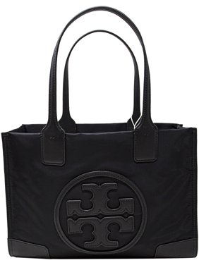 83ba13ead6d6 Product Image Tory Burch Women s Mini Ella Nylon Top-Handle Bag Tote - Black