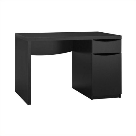Scranton & Co Montrese Computer Desk in Classic Black - image 2 de 4