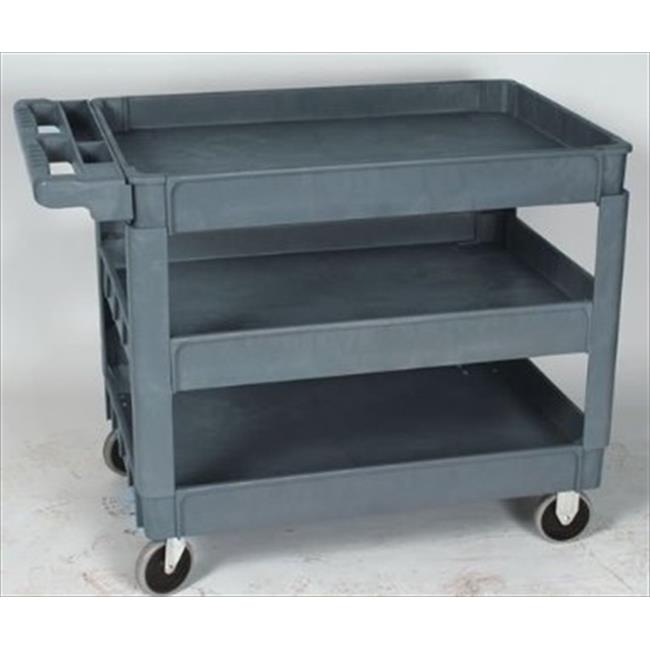 Wesco 270454 3rd Tray for 24 in. x 36 in. Deluxe Plastic Cart. 3rd Tray ONLY. Cart NOT included.