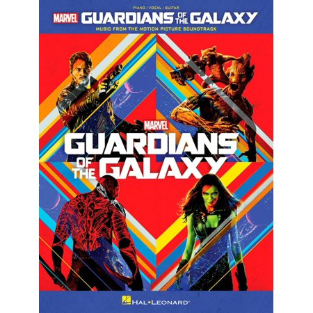 Hal Leonard Guardians Of The Galaxy   Music From The Motion Picture Soundtrack Piano Vocal Guitar