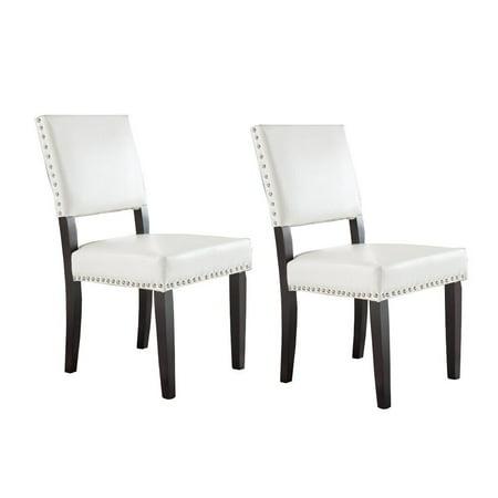 Nailhead Dining Room Chairs Walmart