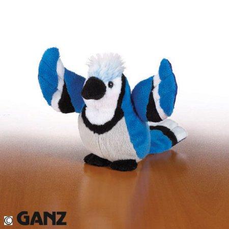 Webkinz Plush - Lil' Kinz Bluejay Stuffed Animal Comes With A Secret (Lil Bird)