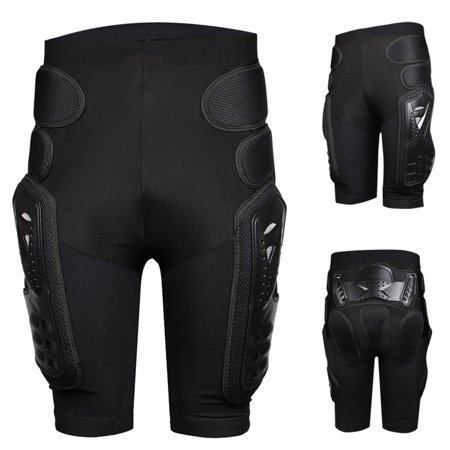 Protective Armor Pants, Heavy Duty Body Protective Shorts Motorcycle Bicycle Ski Armour Pants for Men &
