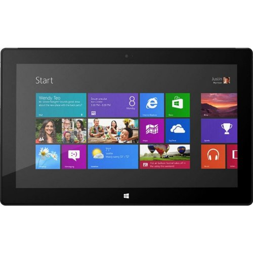 "Microsoft Surface Pro - Tablet - no keyboard - Core i5 3317U / 1.7 GHz - Win 8 Pro 64-bit - 4 GB RAM - 64 GB SSD - 10.6"" touchscreen ClearType Full HD 1920 x 1080 ( Full HD ) - HD Graphics 4000 - dark titanium"