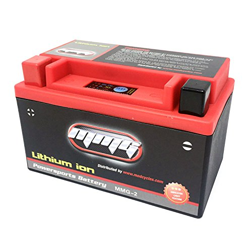 MMG YTX7A-BS 7A-BS Lithium Ion Sealed Powersports Battery 12V 160CCA Motorcycle Scooter ATV - Factory Activated, Maintenance Free (MMG2)
