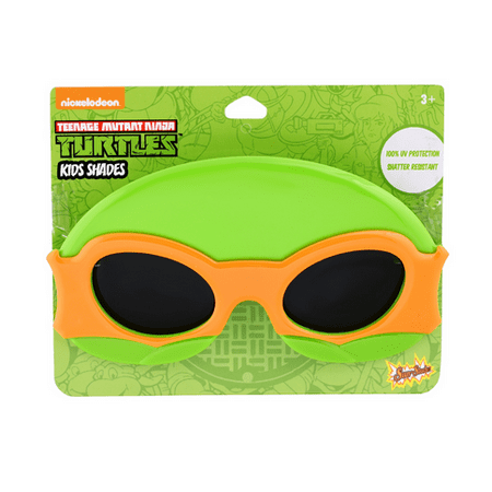 Party Costumes - Sun-Staches - Kids Super Hero Shades - TMNT Orange SG2417](Tmnt Party Decor)